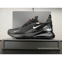 Online Off-White X Nike Air Max 270 Black Sneakers