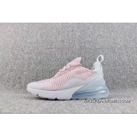 Nike Air Max 270-21 Overseas Version Heel Half-palm As Jogging Shoes Pink White AH6789-602 Women Shoes Best