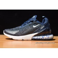 Zoom Air Boost Nike Air Max 270 Zoom Air AH8056 005 Women Men Navy Blue Latest