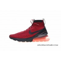 Super Hybrid God When Xiao Lu Bu Fuses Air Max 270 The Foot Feels A Certain Nike Air Footscape Magista Flyknit 270 Small Lyu3 Bu4 Version After Half-Palm Cushion Set Foot Mid Top Socks Shoes Wine Red Black The Five-Star AA6560-600 New Style