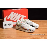 World Cup 313 Block Limited Nike Air Max 90 NIC QS Retro Zoom Jogging ShoesInternational Banner Flag International AO5119-100 Size Online