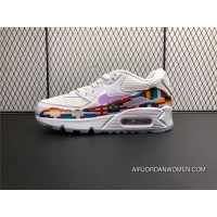 AO5119-100 Nike Air Max 90 World Cup International Flag Limited Retro Zoom Running Shoes Women Shoes And Men Shoes Discount