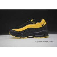 Nike Air Max 95 Nike Air Max Frequency Pack Men Running Shoes Limited Men Fashion Running Shoes YELLOW AV7940 700 BLACK Online