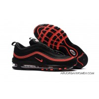 Mens Nike Air Max 97 Kpu Tpu Shoes Black/Red 624520-006 Latest
