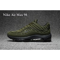 Nike Air Max 98 Military Green New Style
