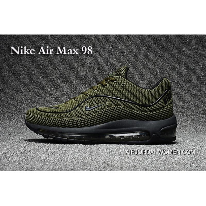the best attitude 40e08 65076 Nike Air Max 98 Military Green New Style