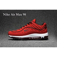 Nike Air Max 98 Red Black New Style