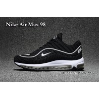 Nike Air Max 98 Black And White For Sale