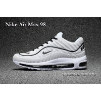 Nike Air Max 98 White And Black New Style