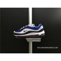 Nike Air Max 98 New Colorways 640744-100 Men Shoes Free Shipping