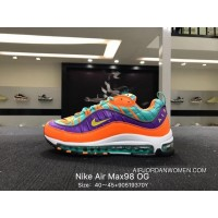 Nike Air Max 98 OG More Dragon Bead Full-palm As Running Shoes Running Shoes Size 40 45 90519370 Y 924462-800 Free Shipping