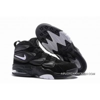 Outlet Nike Air Max Uptempo 2 Black/White-Dark Shadow