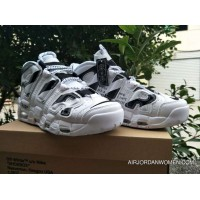For Sale 2018 Off-White X Nike Air More Uptempo White/Black