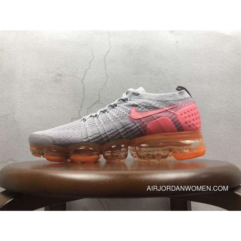 pretty nice 7f237 974b3 2.0 Zoom Air Nike Air Vapormax 2.0 Flyknit White Pink 852-780002 For Sale