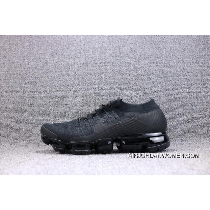 new products 94493 a640a Nike Air VaporMax Flyknit 2018 Zoom Air All Black Men Shoes 849558-011  Copuon