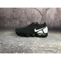 Nike 2018 2.0 Zoom Air VaporMax Flyknit Black White 902842-010 For Sale