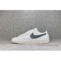 Nike Blazer Low PRM SB 454471 104 FULL GRAIN LEATHER White Black Hook Women Shoes And Men Shoes Copuon