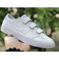 Nike SB Blazer Zoom Low AH3434-100 ALL WHITE Outlet