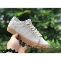 NIKE SB BLAZER ZOOM LOW 864347-100 BROWN Outlet