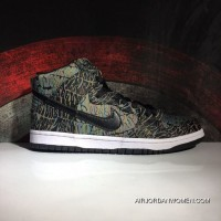 Nike Dunk High Premium Sb Cool Rock 12 High Quality Raw Materials Air Max Zoom Size Model 313171-02 New Release