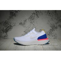 Nike Epic React Flyknit Running Shoes React Women Shoes White Blue Pink White Super Deals