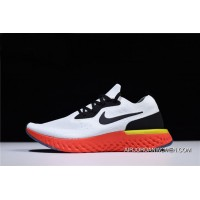 Nike Epic React Flyknit True White/Black-Pure Platinum-Bright Crimson-Volt Aq0067-103 Copuon