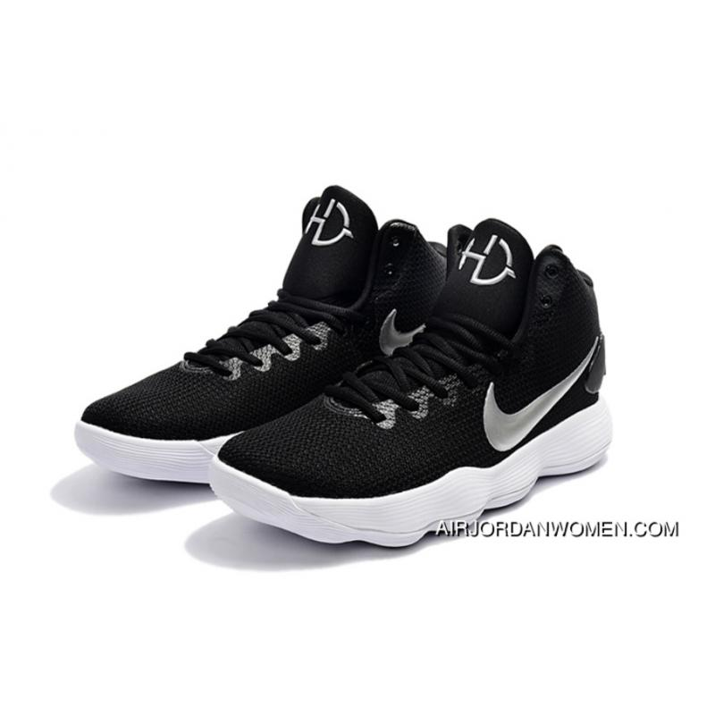 bd40a0e66780 ... Nike Hyperdunk 2017 Ep Black White Basketball Sneakers Hot For Sale ...