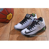623# KD TREY 5 Iv WHITE BLACK SWOOSH Latest