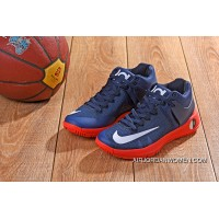 623# KD TREY 5 Iv NAVY BLUE RED WHITE SWOOSH New Style