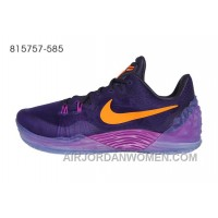 Nike Zoom Kobe Venomenon 5 Purple Orange New Style M6zyhyN