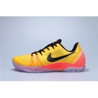 Nike Kobe Venomenon 5 Black Red Yellow Cheap To Buy BtrSJ3