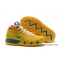Nike Kyrie 4 Yellow Lobster PE New Year Deals