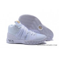 Outlet All White Nike Kyrie S1 Hybrid Triple White