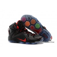 New Year Deals Nike LeBron 12 Black/Red
