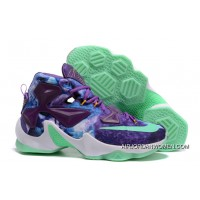 Nike Lebron 13 Purple Blue Shoes Super Deals