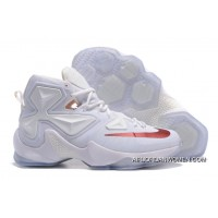 Nike LeBron 13 White/Wine PE Shoes Best