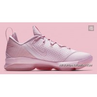 2017 Nike LeBron 14 Low Prism Pink 878635-600 New Release