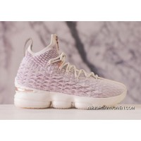 Discount 2018 New KITH X Nike LeBron 15 Rose Gold To