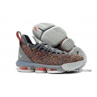 Men Nike LeBron 16 Basketball Shoes SKU 352488-805 Free Shipping