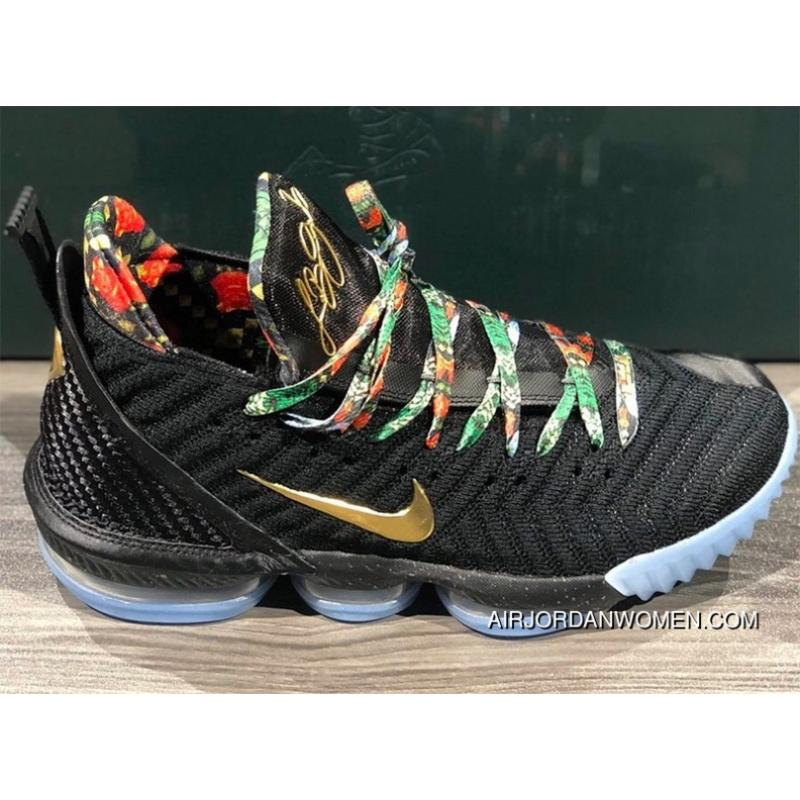 best sneakers 2be32 af289 Nike LeBron 16 Kc Watch The Throne SKU CI1518-001 Release Date 2 Month 17  Day Copuon