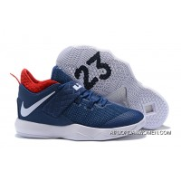 Nike Lebron Ambassador 10 Usa Navy/White-University Red Super Deals