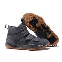 For Sale 2017 Nike LeBron Soldier 11 Grey Gum
