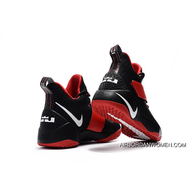 newest 211fb 48d0b Nike LeBron Soldier 11 Red Black White New Release