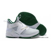 1931#12 Nike Lebron Soldier 12 All White 2018 For Sale