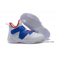 Nike Lebron Soldier 12 White Blue 2018 New Release