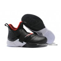 1931#12 Nike Lebron Soldier 12 Black 2018 New Style
