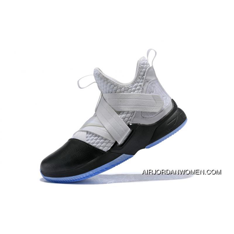 f2035c4952b3 USD  91.44  228.60. Nike Lebron Soldier 12 White Black Men S Basketball  Shoes ...