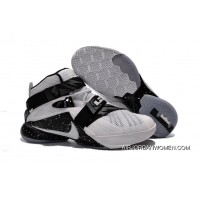 Nike LeBron Soldier 9 White Black Basketball Shoe New Release