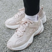 1:1 Nike M2K Tekno AO3108-202 Women White Coral Pink Super Deals