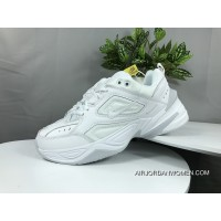 Nike Dad Sneakers Clunky Sneaker Dad Shoes AV4789 101 Air Monarch The M2K Tekno White Free Shipping